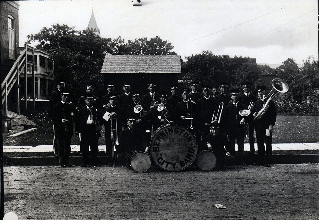 bennington-band-circa-nineteen-eleven