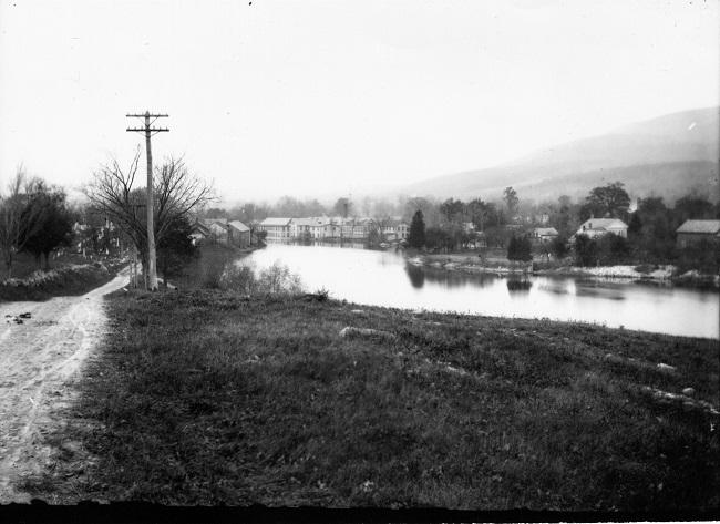 bentons-pond-north-view-morgan-street-on-left