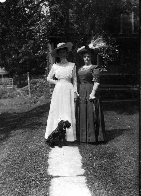two-ladies-and-dog
